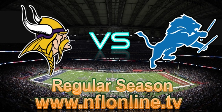 Vikings VS Lions online live stream