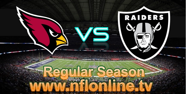 Cardinals VS Raiders live stream