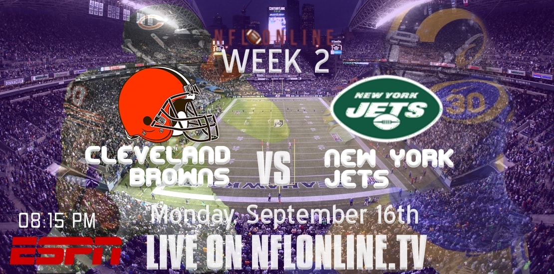NFL Jets vs Browns Live Stream 2019 | Week-2