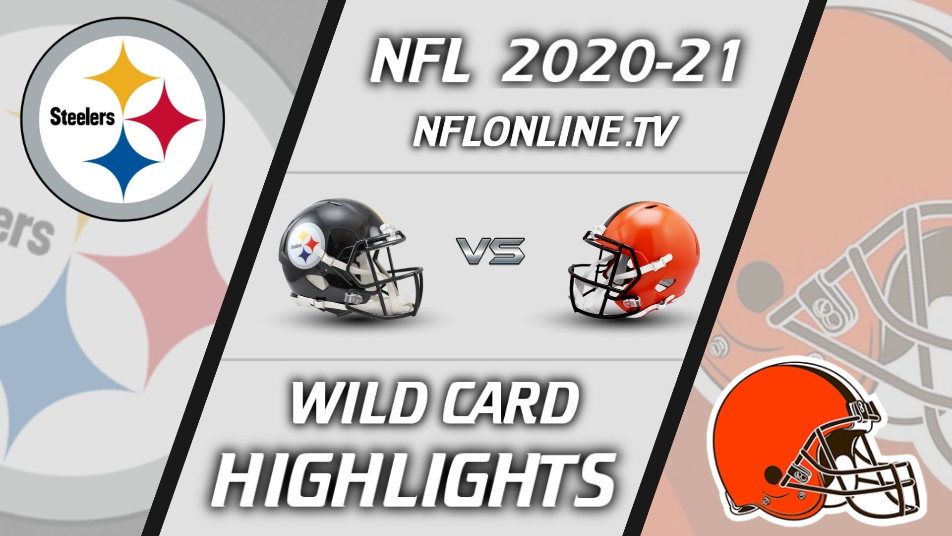 Steelers Vs Browns Highlights 2021 NFL Wild Card