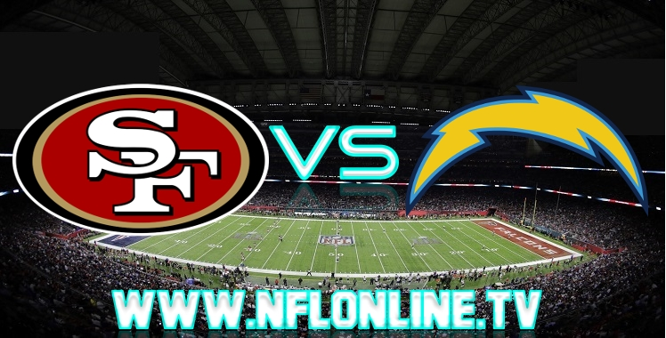49ers VS Chargers Live stream