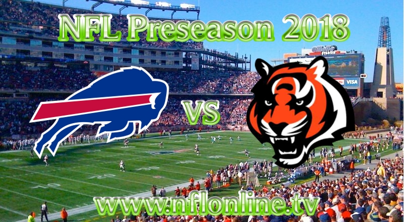 Bengals vs Bills NFL 2018 Streaming