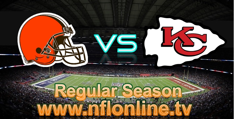 Browns VS Chiefs Live NFL 2018