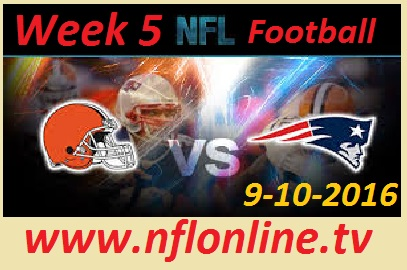 Cleveland Browns vs New England Patriots NFL Live Stream