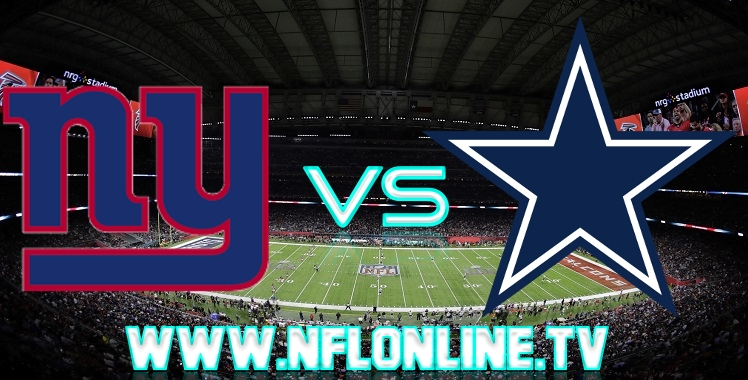 Giants VS Cowboys Live streaming