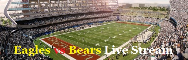 LIVE TV:::: Eagles vs Bears Online NFL Football