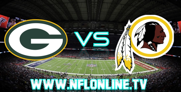 Packers VS Redskins Live streaming