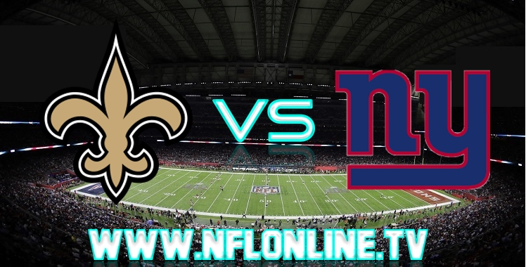 Saints VS Giants Live stream