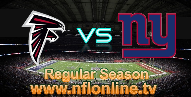Watch Falcons VS Giants Live stream
