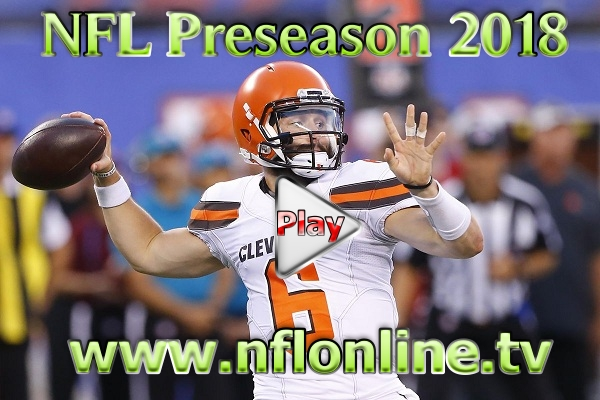 Watch NFL Preseason 2018 Live