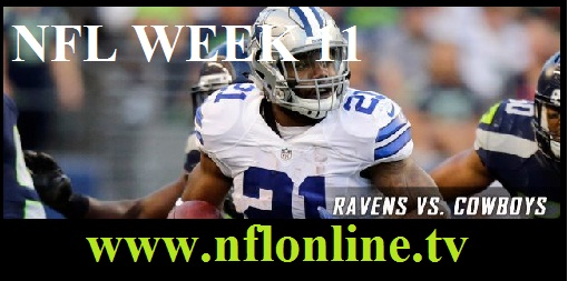 Baltimore Ravens vs Dallas Cowboys live