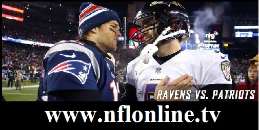 Baltimore vs New England live