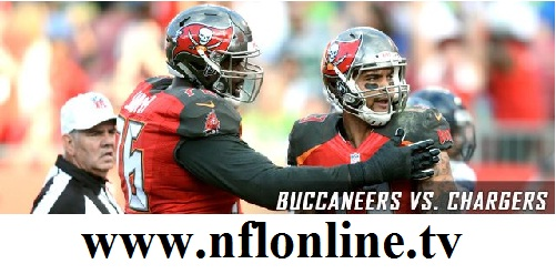 Buccaneers vs Chargers Live stream
