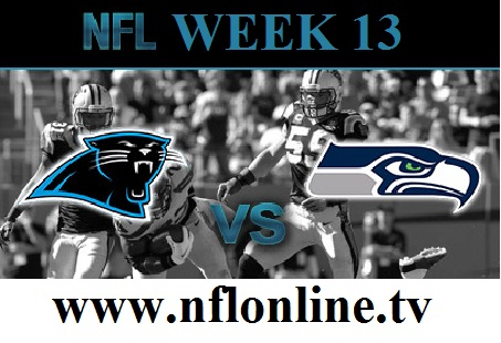 Carolina Panthers vs Seattle Seahawks  Live stream
