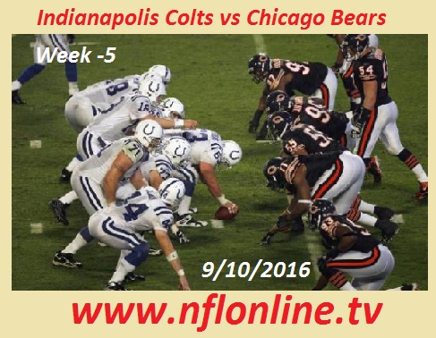 Chicago Bears vs Indianapolis Colts