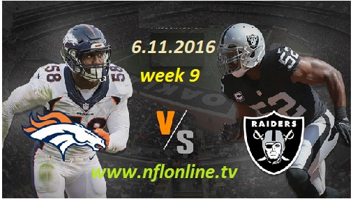 Denver vs Oakland live