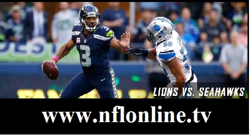 Detroit Lions vs Seattle Seahawks live
