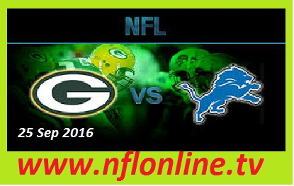 Detroit Lions vs Green Bay Packers live