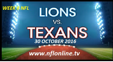 Lions vs Texans live