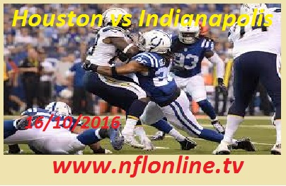 Indianapolis Colts vs Houston