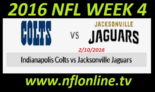 Indianapolis Colts vs Jacksonville Jaguars