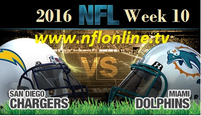 Miami Dolphins vs San Diego Chargers