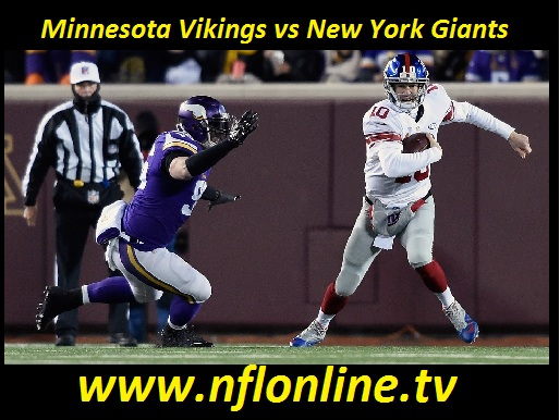 Minnesota Vikings vs New York Giants