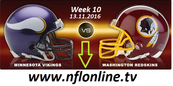 Minnesota Vikings vs Washington Redskins