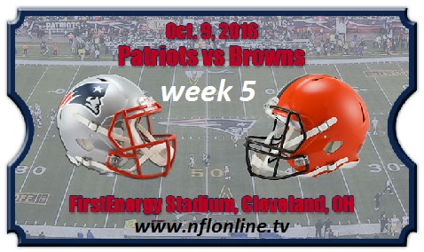 New England vs Cleveland