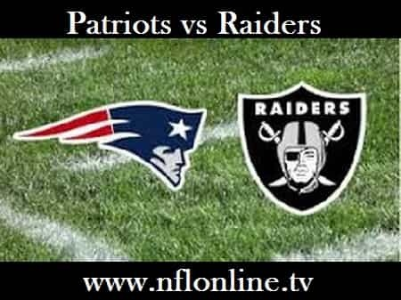New England vs Oakland