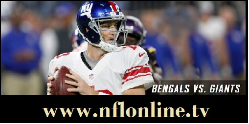 New York Giants vs Cincinnati Bengals live
