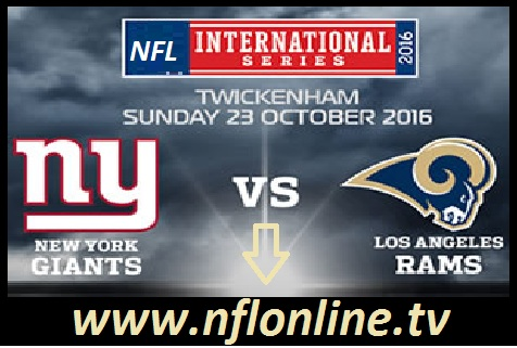 Rams vs Giants LIVE