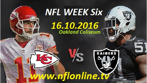 Chiefs vs Raiders stream