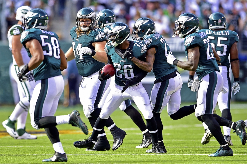 Eagles players