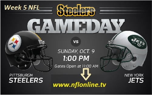 Pittsburgh Steelers vs New York Jets