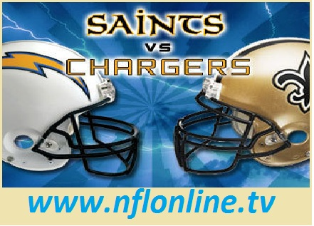 San Diego Chargers vs New Orleans Saints
