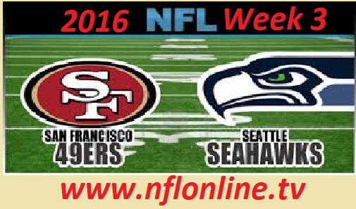 San Francisco 49ers vs Seattle Seahawks live