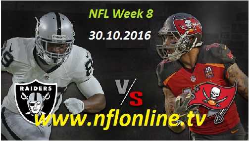 Raiders vs Buccaneers stream