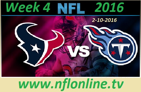 Tennessee Titans vs Houston Texans stream