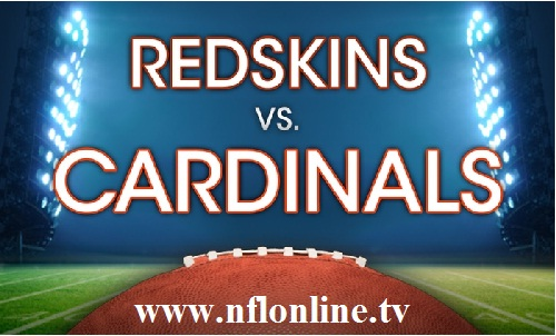 Washington Redskins vs Arizona Cardinals Live