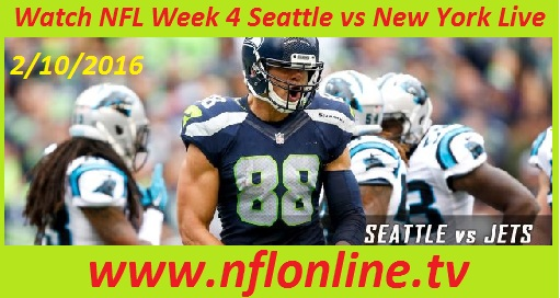 Watch NFL Week 4 Seattle vs New York Live