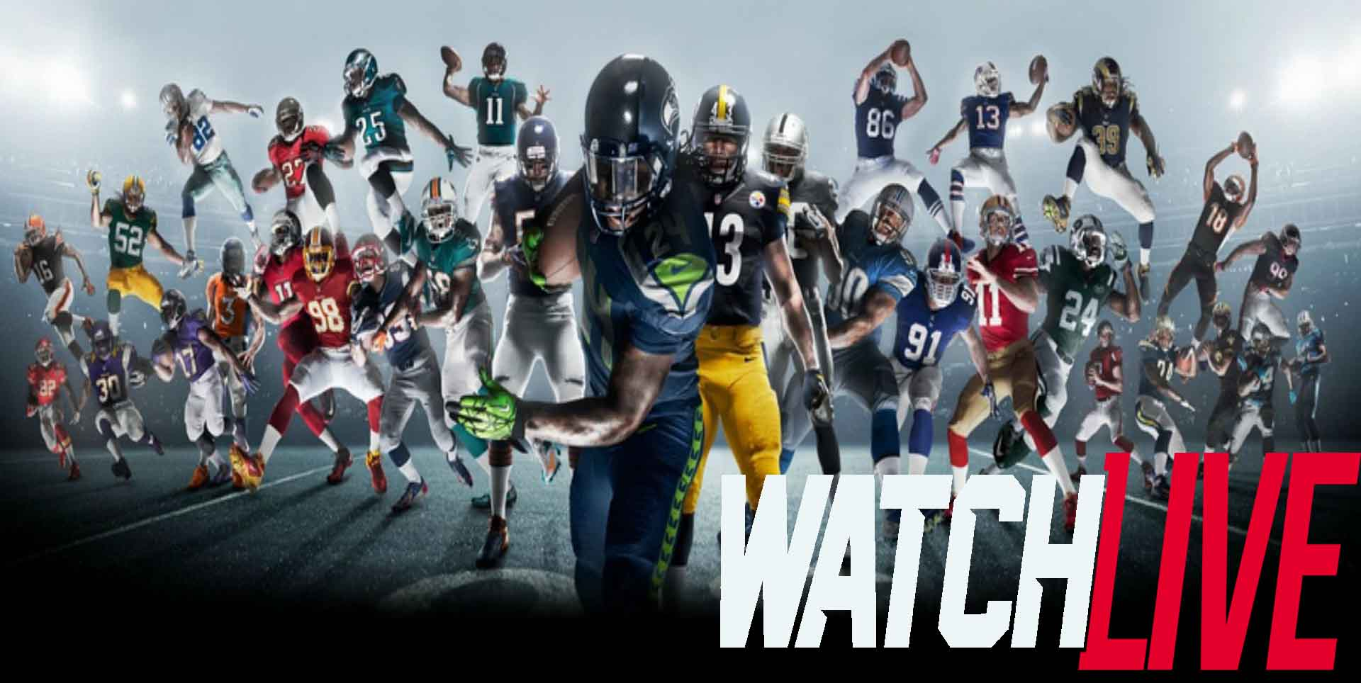 Watch NFL Easily Online In HD Every Where | NFL Online TV slider