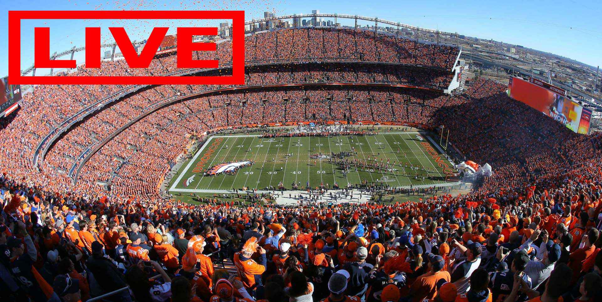 Denver Broncos vs Atlanta Falcons NFL Live Coverage