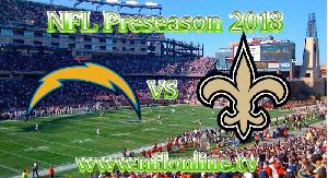 Saints vs Chargers NFL 2018 Streaming Live