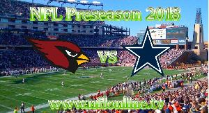 Watch Cardinals vs Cowboys 2018 NFL Live