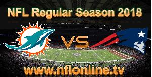 Watch Dolphins VS Patriots live stream