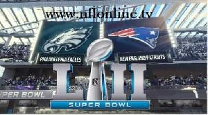 Watch Patriots vs Eagles 2018 Super Bowl LII Live